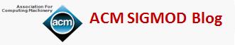 ACM SIGMOD Blog